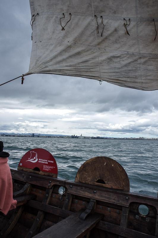 viking boat sail