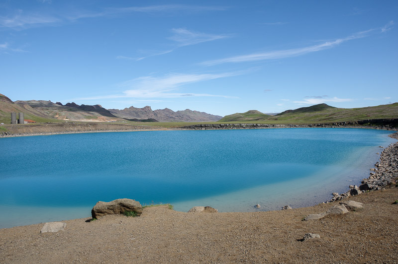 no idea geopark cool lake
