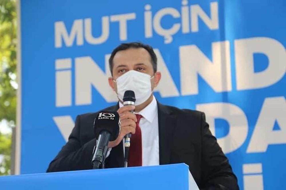 AK Parti Mut İlçe Başkanı Soner Solak güven tazeledi