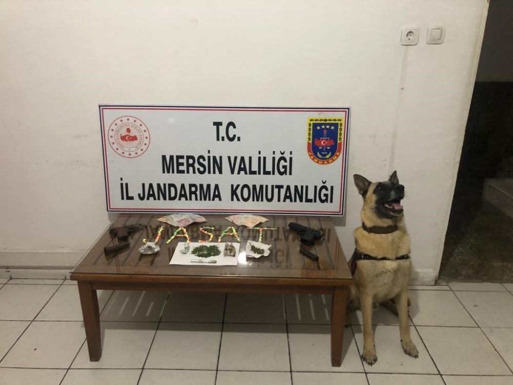 Mersin'de uyuşturucu operasyonu: 4 kişi gözaltına alındı