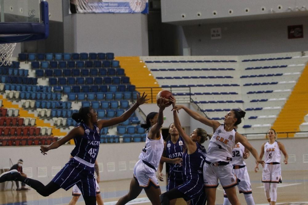 Kadınlar Basketbol Süper Ligi: Çukurova Basketbol: 86 – Hatay Büyükşehir Belediyespor: 67