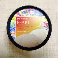 【沖縄明治】琉球紅茶PEARLミルクティー&ミルク2層仕立て【コンビニ スーパー アイス レビュー】