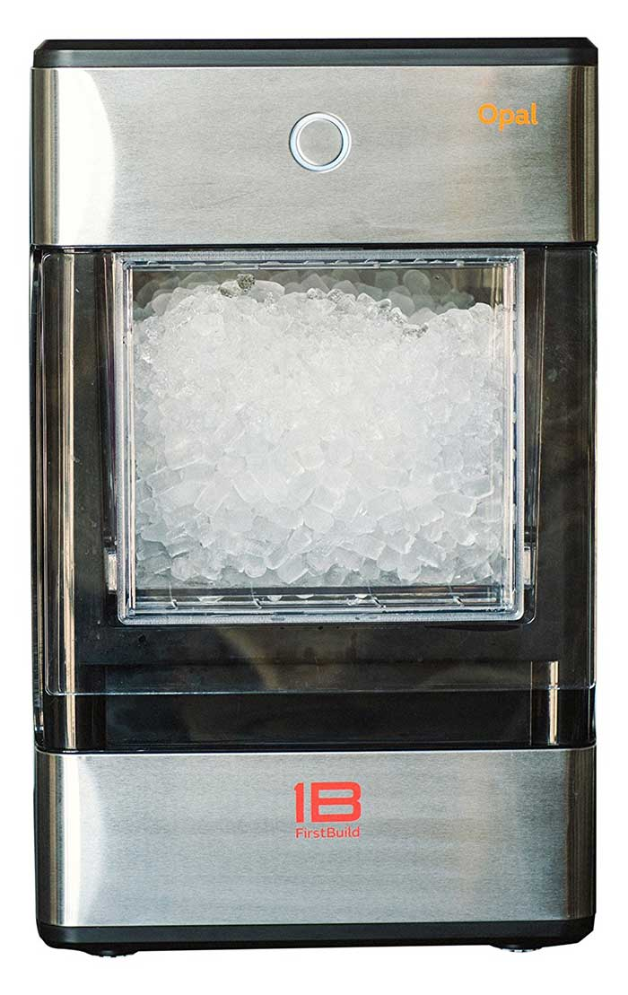 Ge S New Opal Ice Maker How Does It