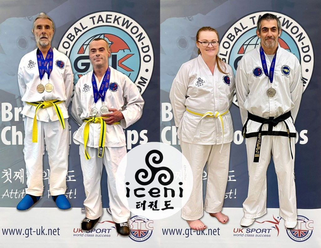 Newly formed ICENI Taekwon-do took a small group to Coventry for the GTUK British Open Championships, and came back with 5 medals!