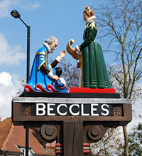 beccles-town-sign