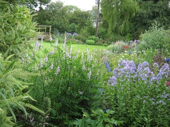 Norfolk Gardens High House gardens Shipdham