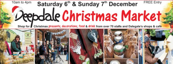 Great Start to Christmas on the North Norfolk Coast Deepdale Christmas Market