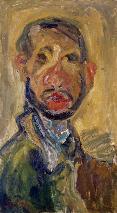 Chaim-Soutine-self-portrait