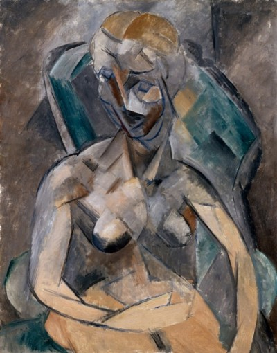 Pablo-Picasso-A-young-Lady