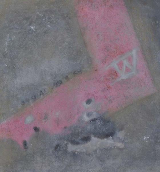 3 5 Cases de penne sand ground oil on canvas 68x70cms 2013