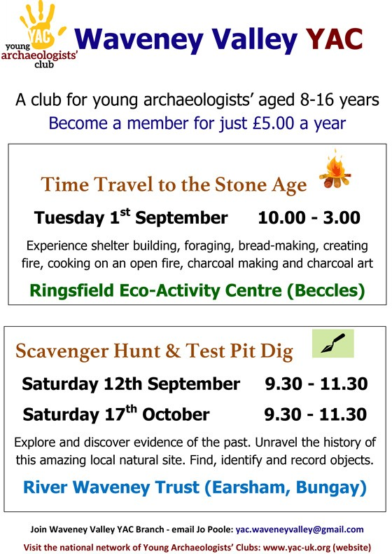 Day in the Stone Age at the Ringsfield Eco-Activity Centre near Beccles