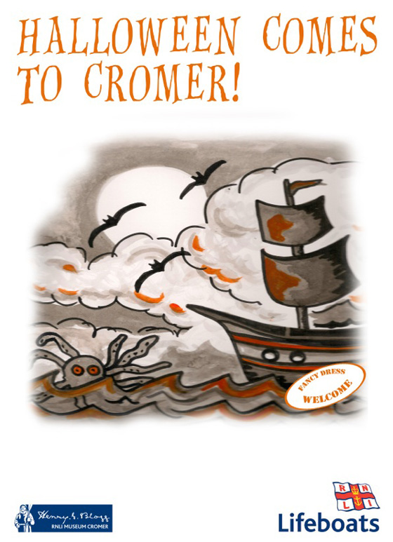 halloween comes to cromer