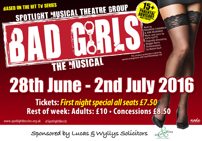 Bad Girls The Musical - Tickets On Sale Now - Public Hall -6529