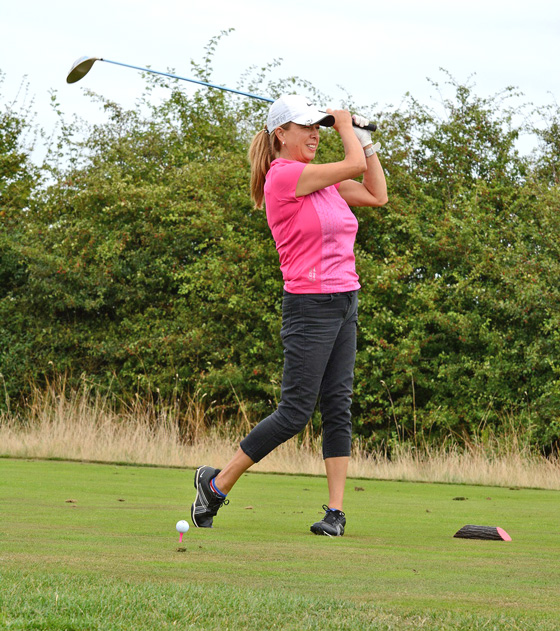 Generous Golfers Tee Off For Charity Cash