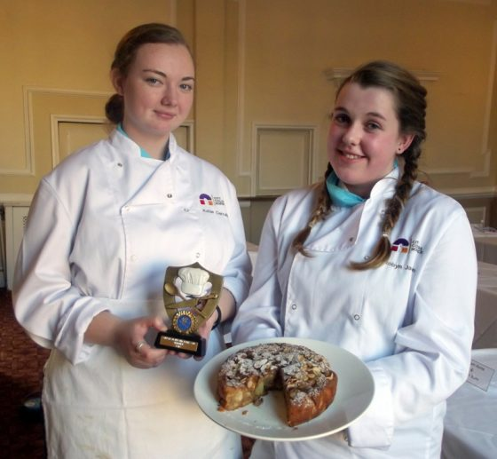 Maids Head Great Norfolk Bake Off Winners Katie Carruth and Robyn Jackson