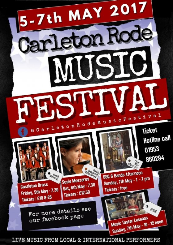 Carleton Rode Music Festival