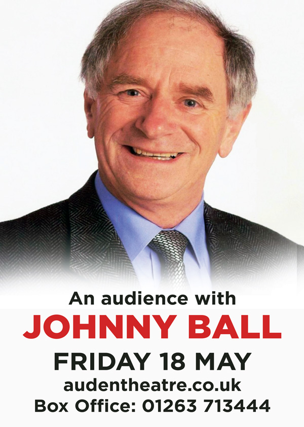Johnny Ball Auden Theatre