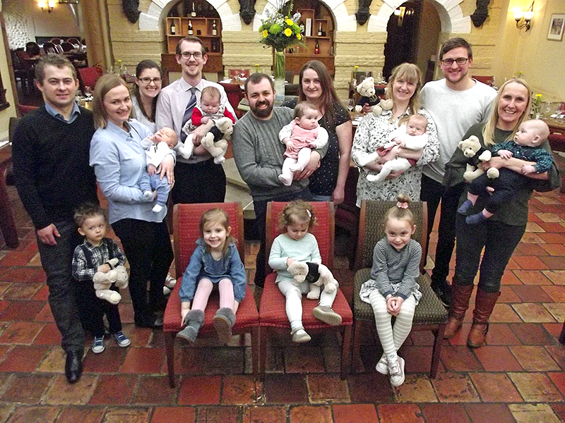 Norwich Maids Head Hotel Spring Babies' Celebration