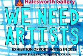Halesworth Galley Artists Exhibition Opportunities