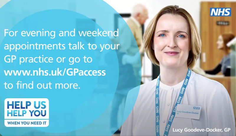 GP and nurse appointments