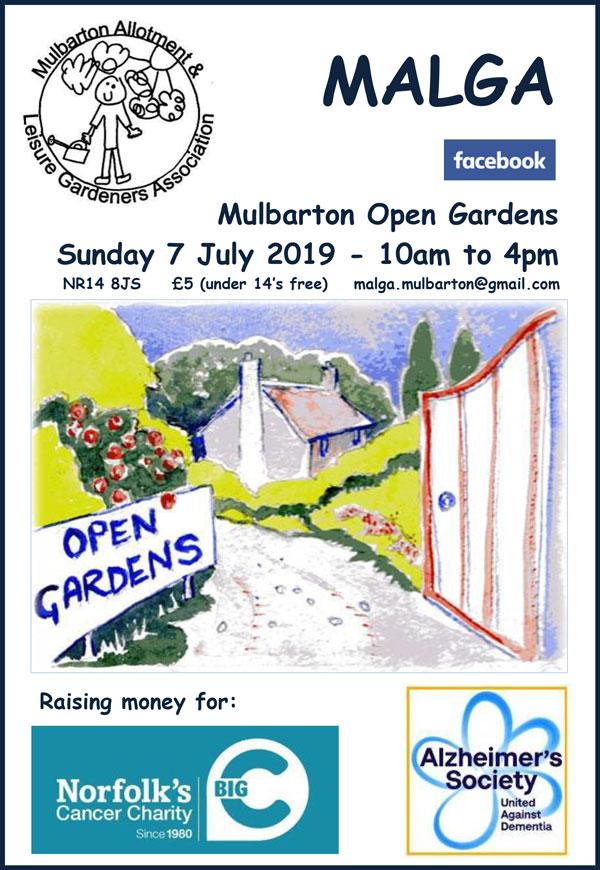 Mulbarton Open Gardens