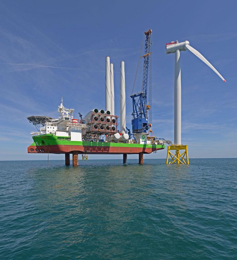 East Anglia ONE turbine