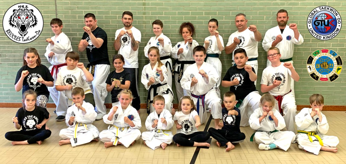 Beccles Taekwon-do Monday session students
