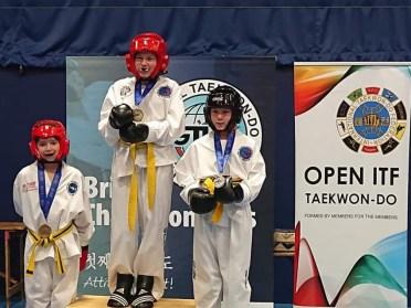 Beccles-Taekwondo-Lousie-gold
