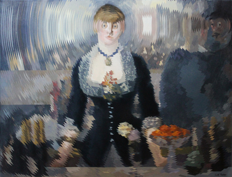 A Bar at the Folies-Bergère (after Manet) by Will Teather. Credit Will Teather