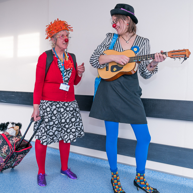 Further evidence that creative engagement in hospitals helps boost wellbeing