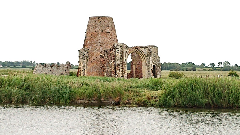 guided walking tour St Benet's Abbey