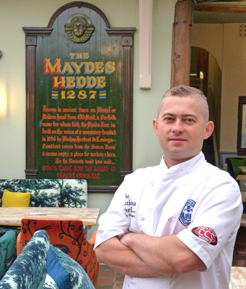 Maids Head Hotel Head Chef top 10 chefs