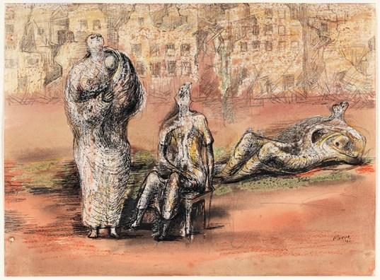 Bill Brandt Henry Moore