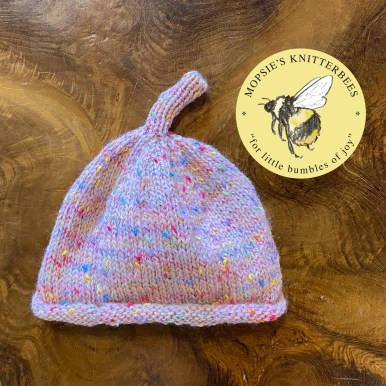 Cosy Cuddles Handmade Knitted Baby Hat from Mopsie's Knitterbees