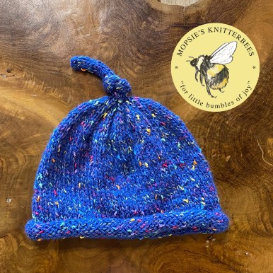Pixie Magic Handmade Knitted Baby Hat from Mopsie's Knitterbees