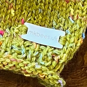Raindrops on Moss Handmade Knitted Baby Jumper