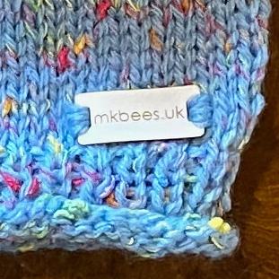 Thistledown Seeds Handmade Knitted Baby Jumper from Mopsie's Knitterbees