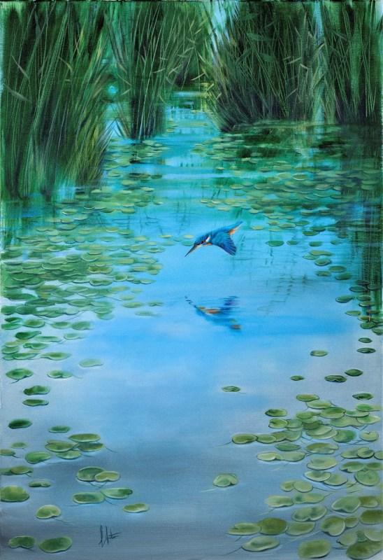 A Flash of Blue by Lorraine Auton