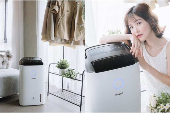 【3C家電】PHILIPS飛利浦抗敏清淨除濕機 DE5205 (一級能效)  – 13L除溼力 + PM0.02濾淨力,一機兩用讓家裡又乾又淨