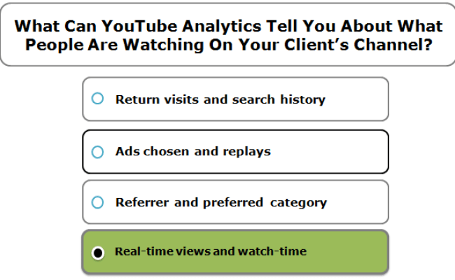 What Can Youtube Analytics Tell You About What People Are