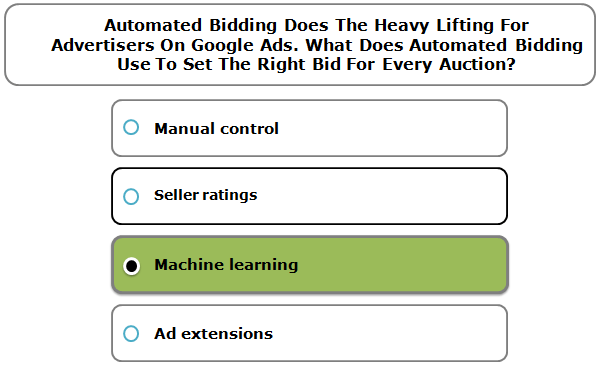 ? Automated Bidding Does The Heavy Lifting For Advertisers On Google Ads. What Does Automated Bidding Use To Set The Right Bid For Every ...