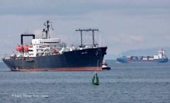 Training vessel in Reykjavik