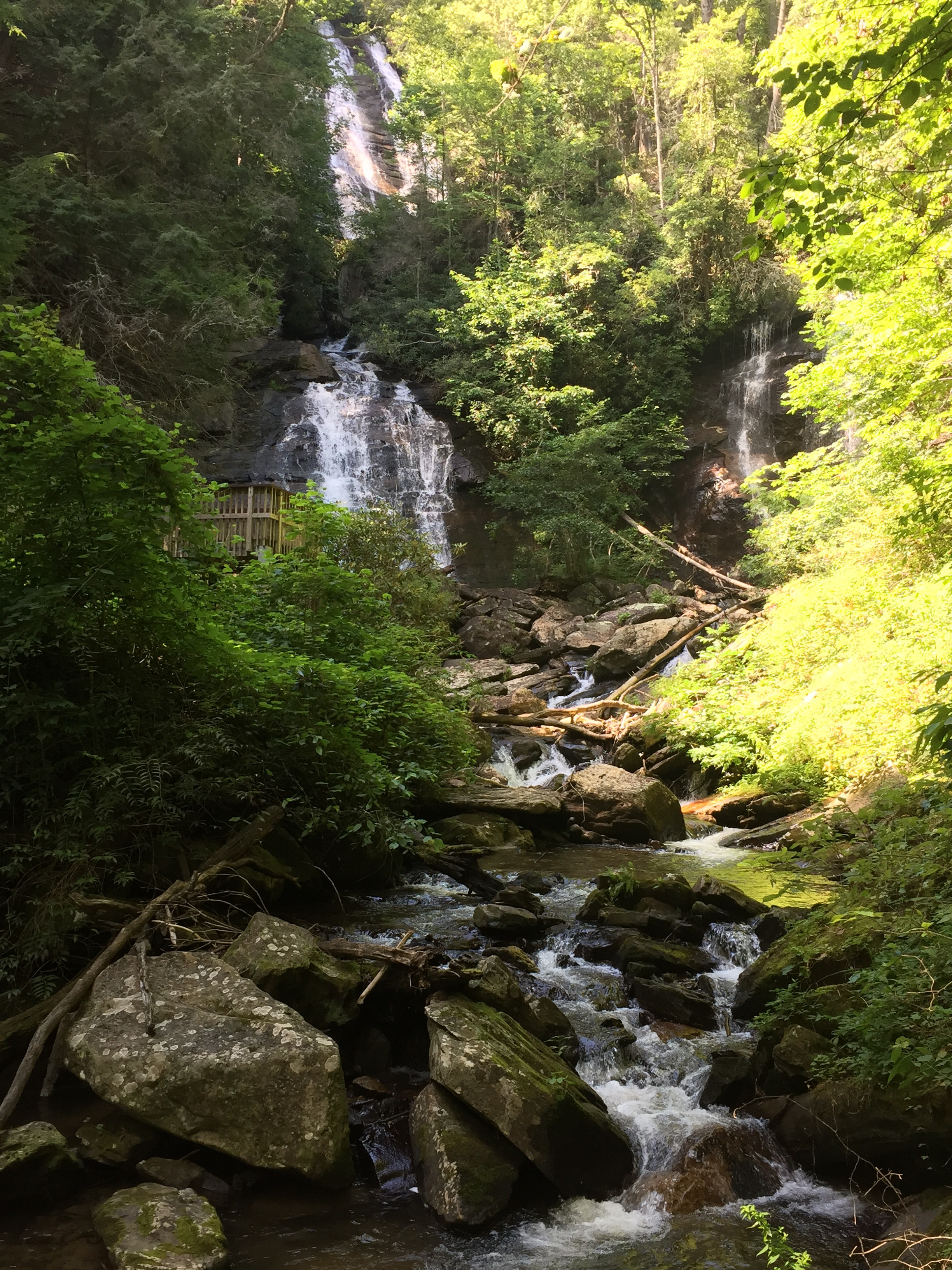 Yonah Mountain and Anna Ruby Falls  Carly Kovacik