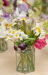 15. Jam Jar Flowers
