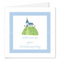 Christening card kate lewis design