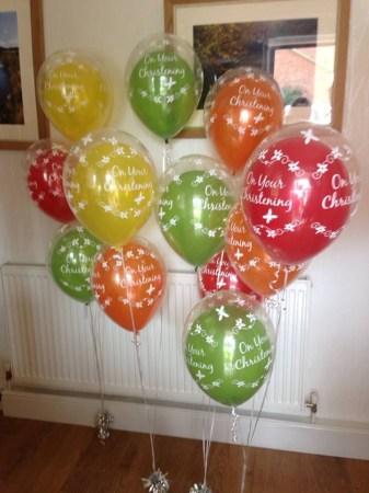Stylish Events christening balloons