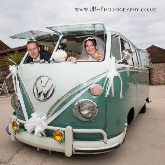 VW Campervan Wedding Transport