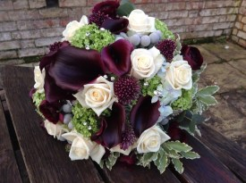 1) Creations Flowers berry bouquet
