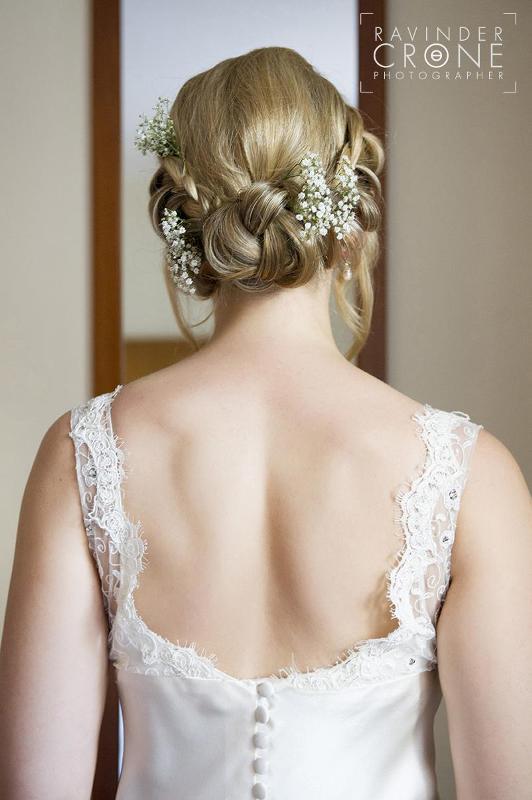 Low Plait Bridla Hairstyle