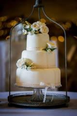 Pretty Cake Company cream birdcage